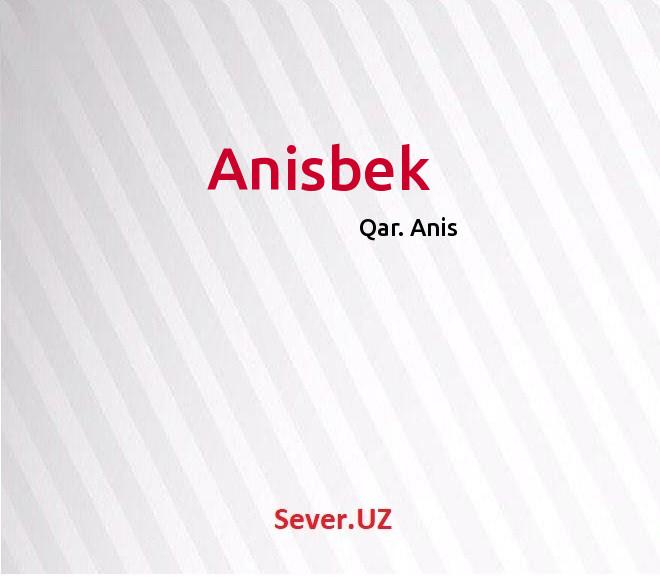 Anisbek