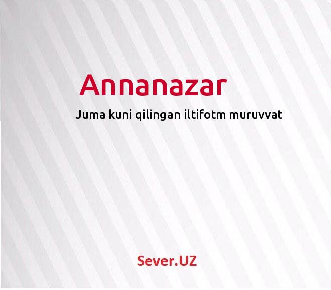 Annanazar