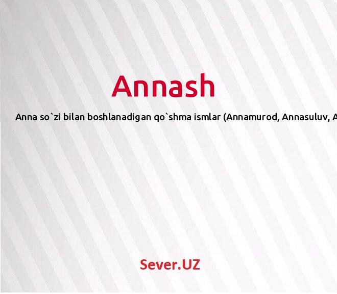 Annash