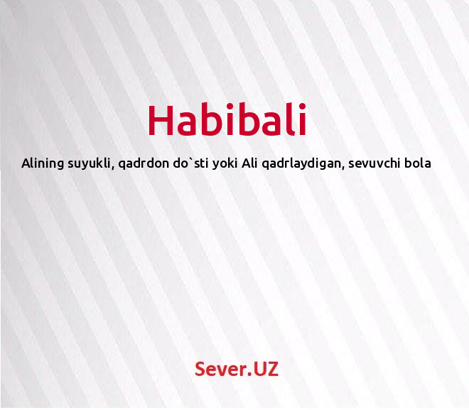 Habibali