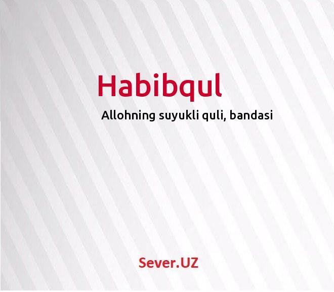 Habibqul