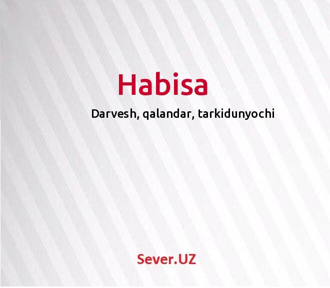 Habisa