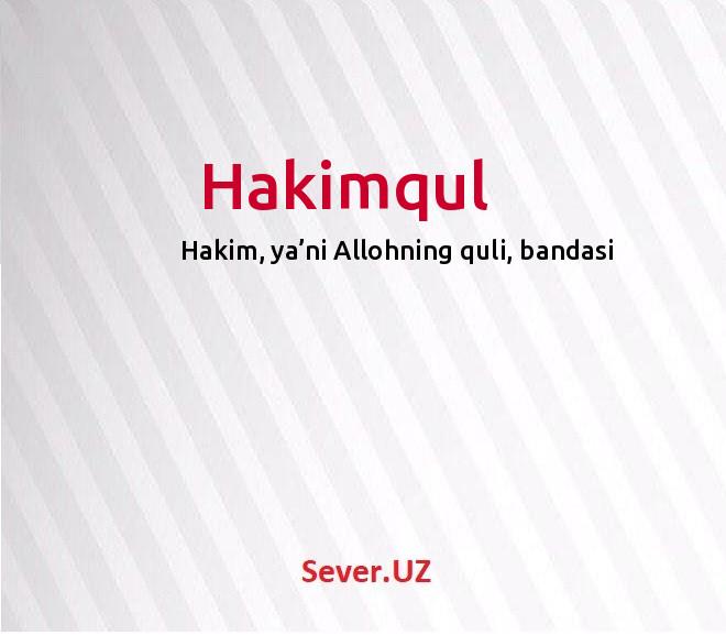 Hakimqul