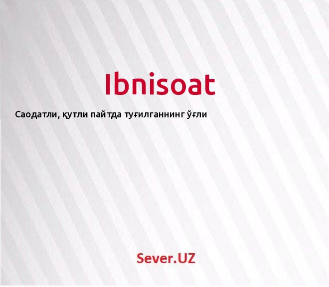 Ibnisoat