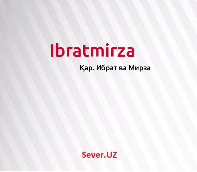 Ibratmirza