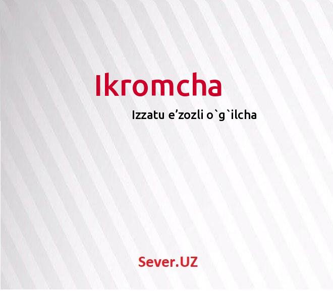 Ikromcha