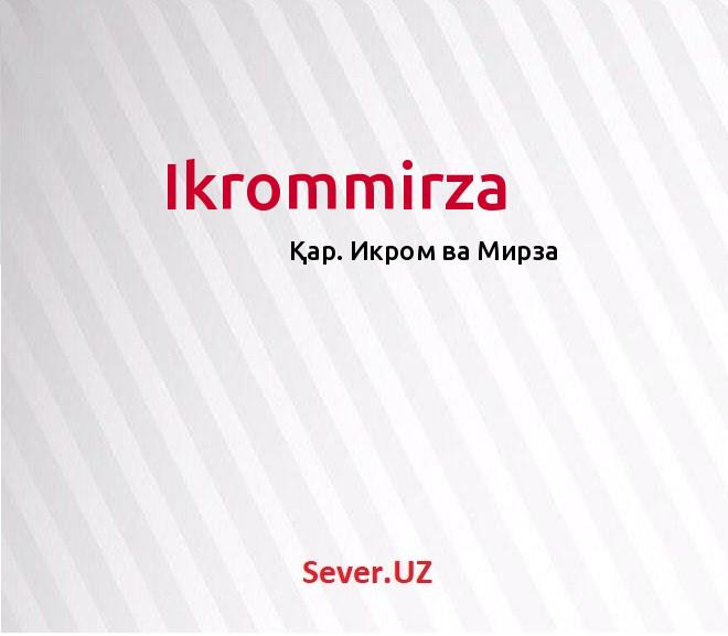 Ikrommirza