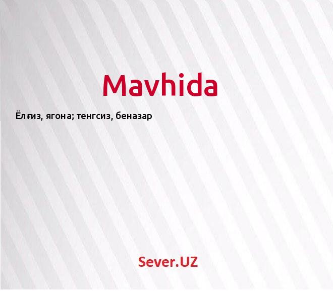 Mavhida