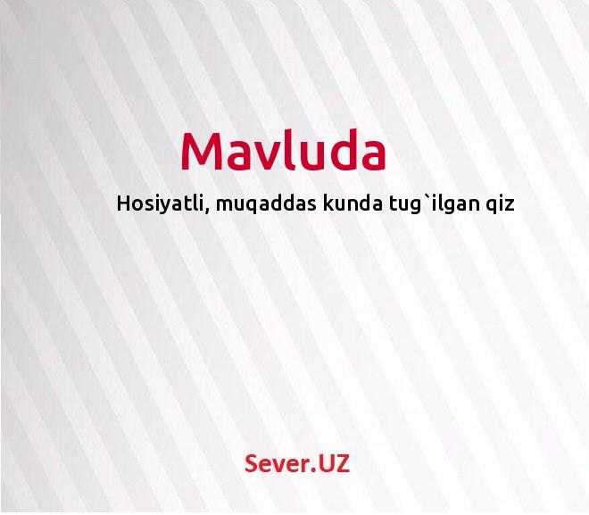 Mavluda