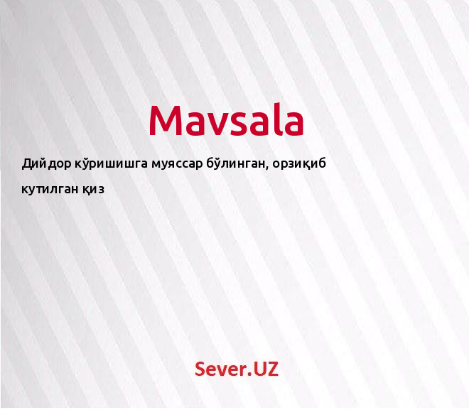 Mavsala