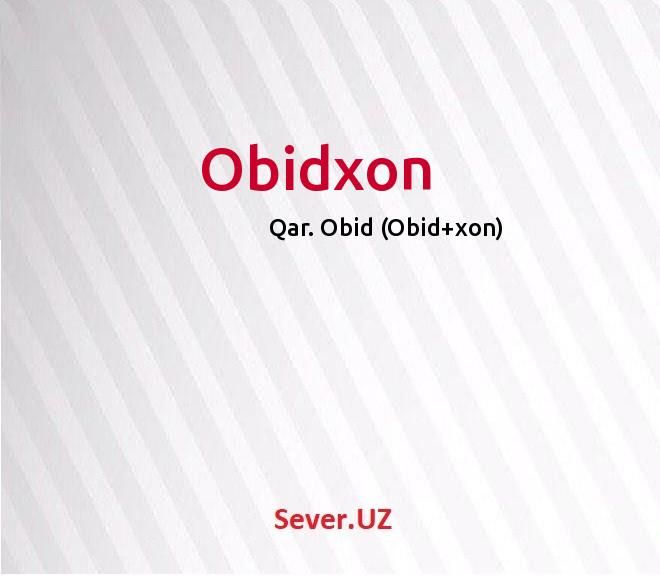Obidxon