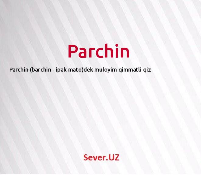 Parchin