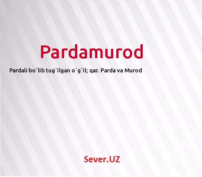 Pardamurod