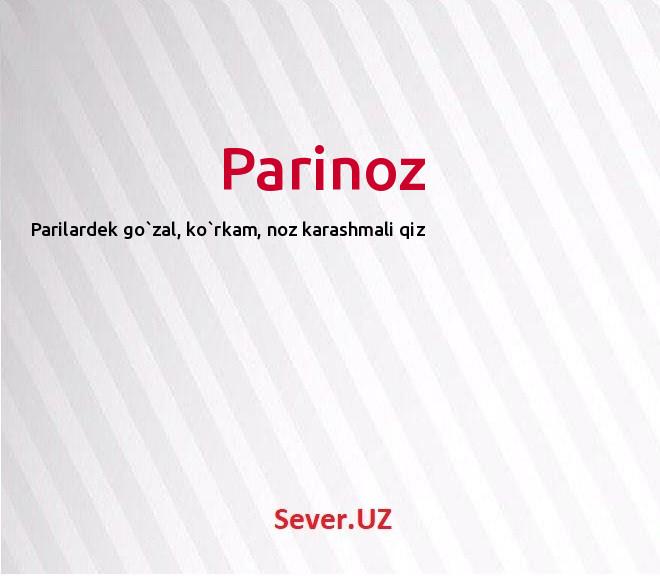 Parinoz