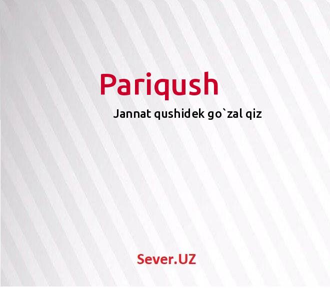 Pariqush