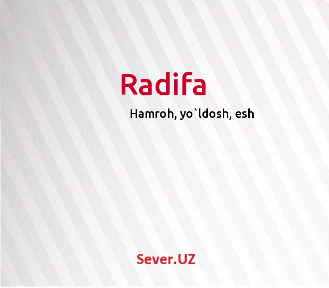 Radifa