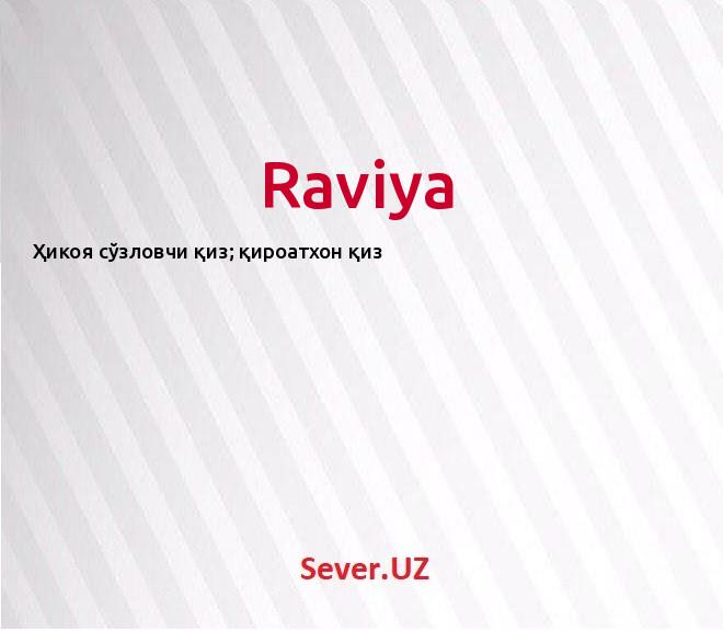 Raviya