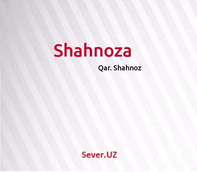 Shahnoza