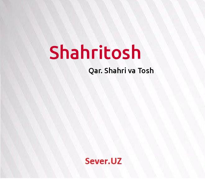 Shahritosh