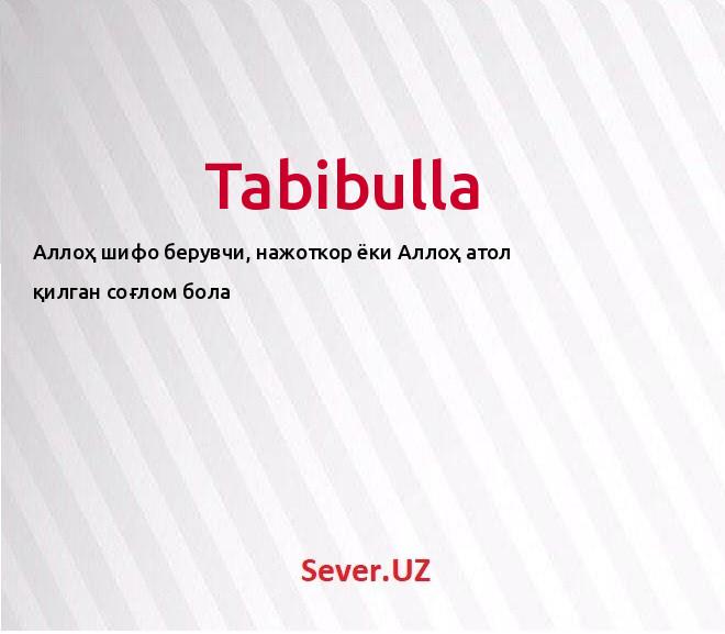 Tabibulla