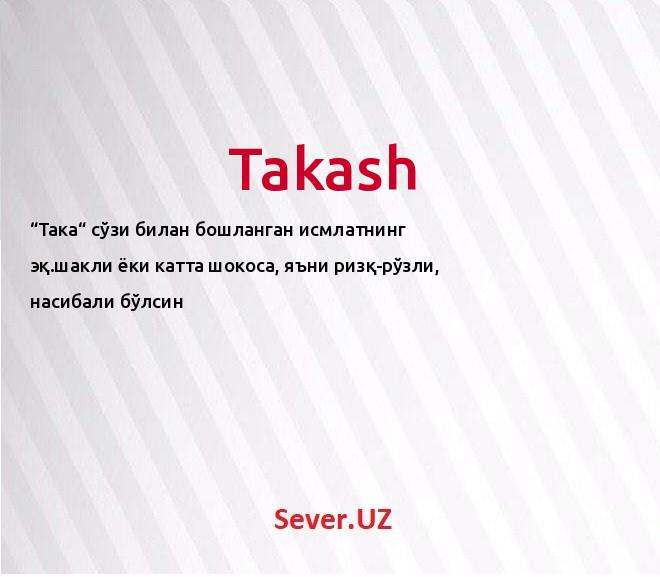 Takash