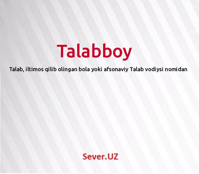 Talabboy