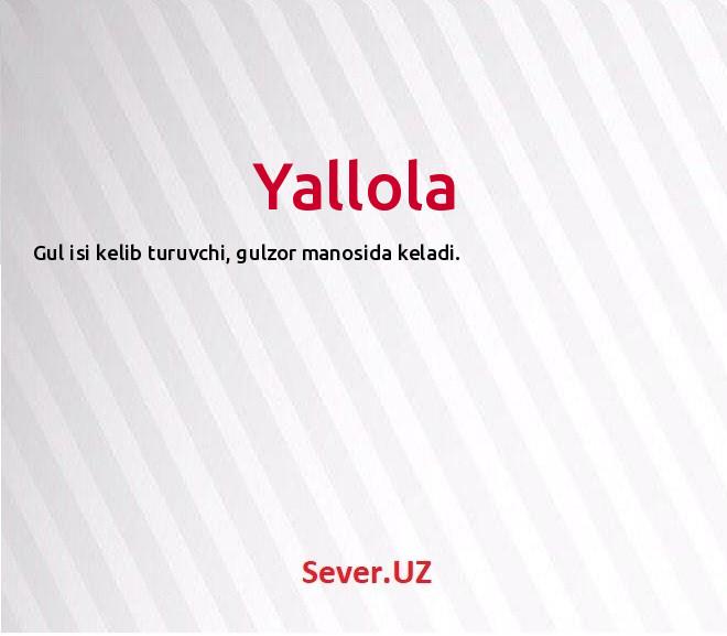 Yallola