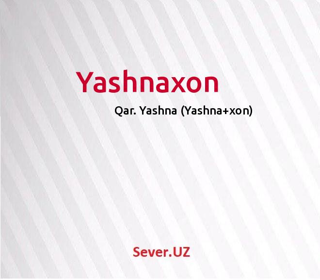 Yashnaxon