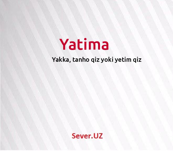 Yatima