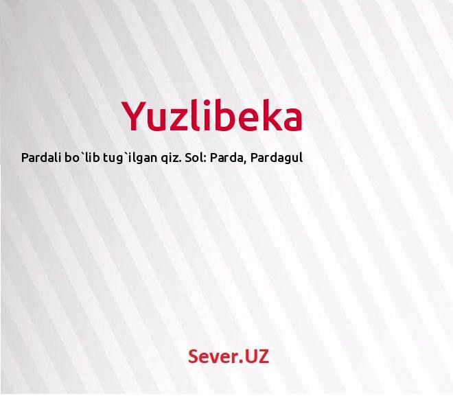Yuzlibeka