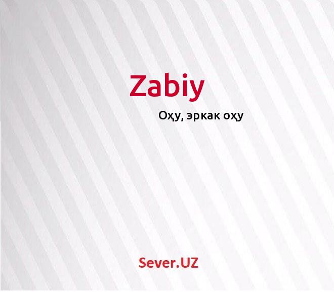 Zabiy