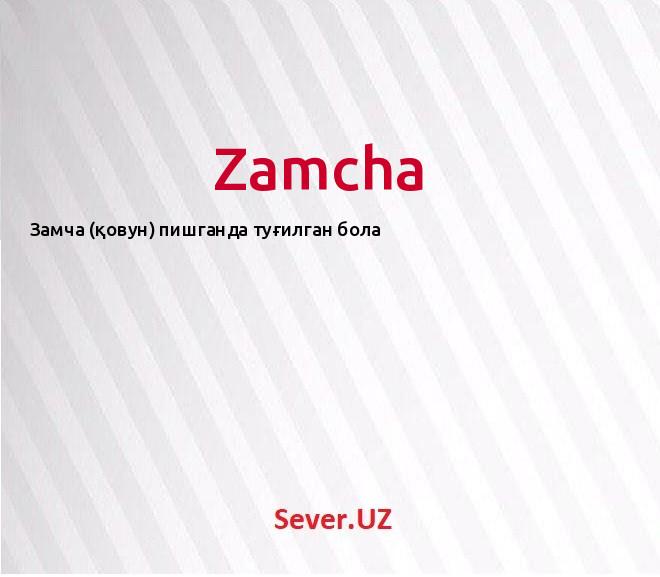 Zamcha