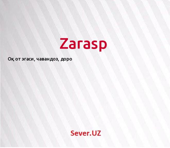 Zarasp