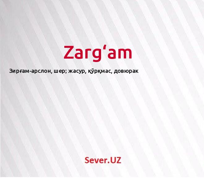 Zarg'am