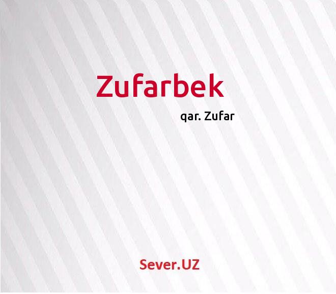 Zufarbek