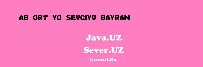 Ab Ort yo Sevgiyu Bayram (hikoya) [Abdulhamid Ismoil]