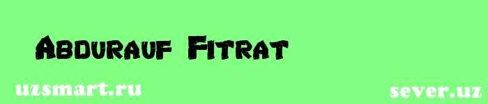 Abdurauf Fitrat