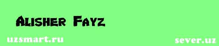 Alisher Fayz