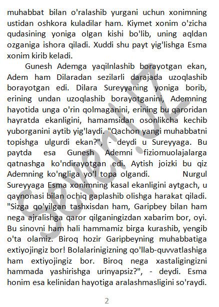 Istanbullik kelin 225-330 qism voqealar rivoji